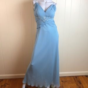 Nicole Miller Ice Blue Prom/Pageant/Formal Gown